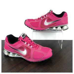 Nike Reax Run 8 Pink Running Cross-Training Shoes